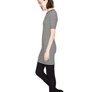 Aritzia Sunday Best Striped Miller Dress 00